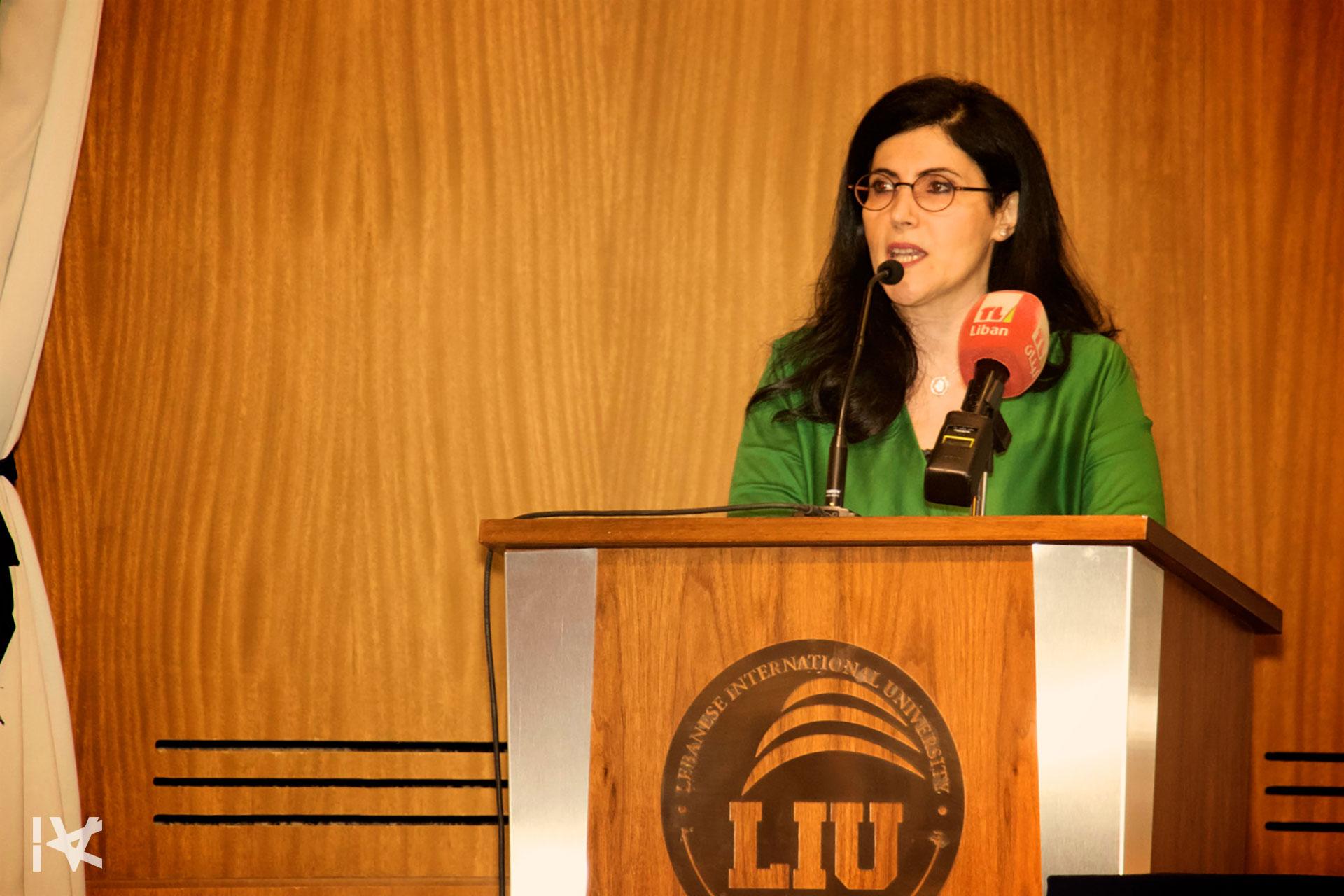 Mrs. Lina Ezzedine - Beirut Labyrinth